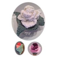#60TH Knitted Rose Gifts Thumbnail