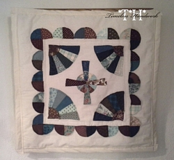 17TH Faith And Fans Wall Quilt Thumbnail by Timeless Handwork