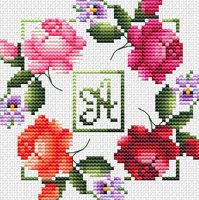 #202 Fresh Flowers Monogram