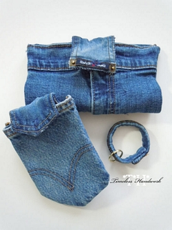 #43 Upcycled Denim Carriers
